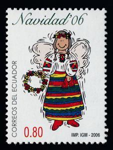 Ecuador 1846 MNH Christmas, Costume