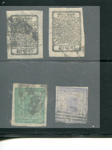 Nepal lot used F-VF +