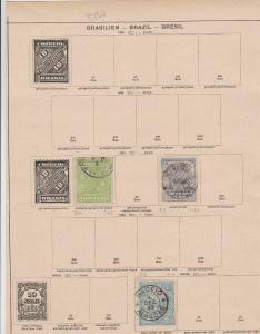 brazil stamps ref 11163