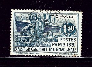 Chad 63 Used 1931 issue