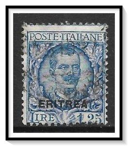Eritrea #100 Victor Emmanuel Used