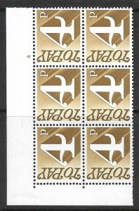 Sg Spec Z67 4p 1970 Decimal Postage Due Cyl 4 no dot UNMOUNTED MINT