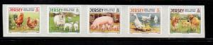 Jersey Sc 1335 2008 Farm Animals stamp set mint NH
