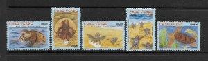 TURTLES - CAPE VERDE #783-7  MNH