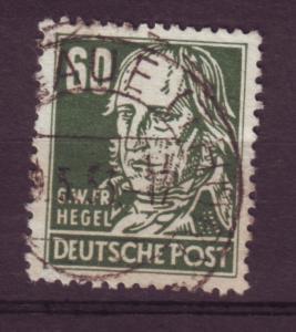 J15590 JLstamps 1953 germany DDR part of set used #133 hegel wmk 297