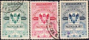 Venezuela #C590-C596  Used  Set