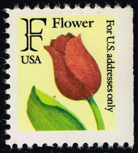 US #2520 Flower - Rate Change Stamp; MNH (1.50)