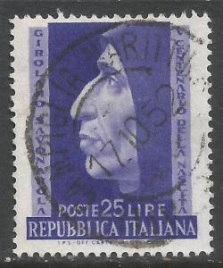 ITALY 609 VFU N135