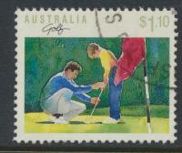 Australia SG 1193  SC# 1112 Golf  Used / FU  see details