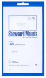 Mounts Showgard, 165/94mm (10ea. Black) (00543B)