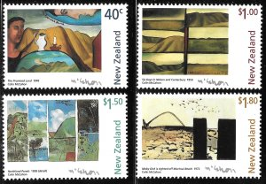 New Zealand # 1437 - 40 Mint Never Hinged