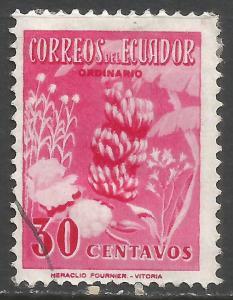 ECUADOR 591 VFU BANANAS 1046G-4