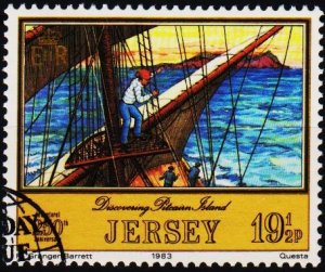 Jersey. 1983 19 1/2p S.G.306 Fine Used