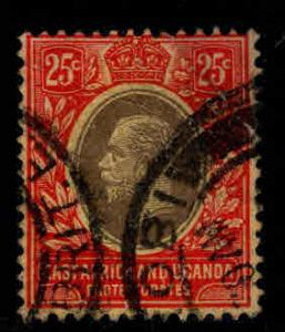 East Africa and Uganda protectorates  Scott 46 KEVII nice color and centering