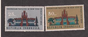 INDONESIA SC# 643-4 VF LH 1964