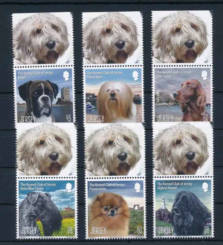 [30923] Jersey 2013 Animals Dogs 125 Year Kennel Club MNH