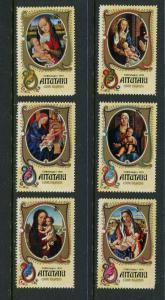 Aitutaki #104-9 MNH (Box2)