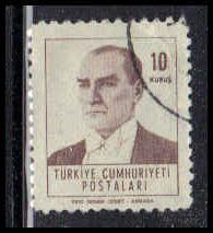 Turkey Used Very Fine ZA4177