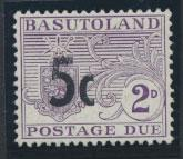 Basutoland  Postage Due  SG D7 Mint / maybe MUH see details