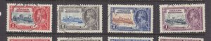 SOMALILAND PROT., 1935 Silver Jubilee set of 4, used.