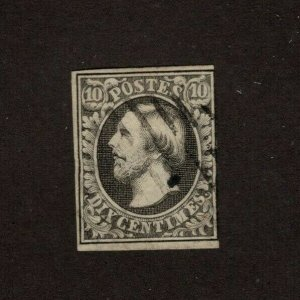 Luxembourg 1 Used F/VF Catalog $55