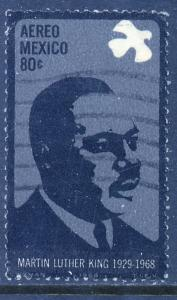 MEXICO C339, 80c Martin Luther King Memorial. Used (736)
