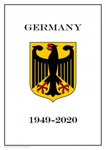 Germany 1949-2020 PDF (DIGITAL) STAMP ALBUM PAGES