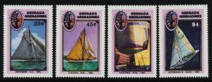 Grenada Grenadines 862-5 MNH Yachts, America's Cup