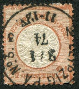 Germany   Sc.#19  used