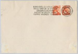 56976 - ITALY - POSTAL HISTORY - CYCLING ciclismo POSTMARK on COVER 1961