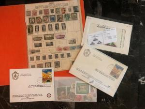 Great Libya Cover Stamp Souvenir Sheet Collection Lot MXE