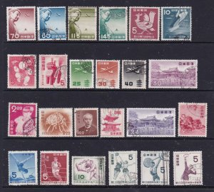 Japan a small lot M or U from around 1950's