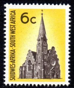 SWA - 1971 6c Church MNH** SG 211