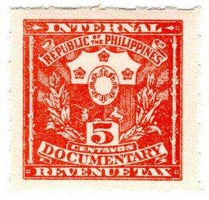 (I.B) Philippines Revenue : Documentary 5c