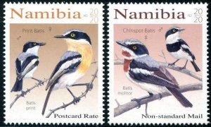 2021 Namibia Birds - Batises (2) (Scott NA) MNH