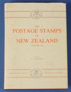 LITERATURE New Zealand: The Postage Stamps of, Vol 7, pub by RPSNZ