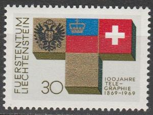 Liechtenstein #461   MNH  (S9801)