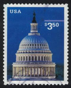 US Stamp Scott #3472 Used Priority Mail Capitol Building 2001
