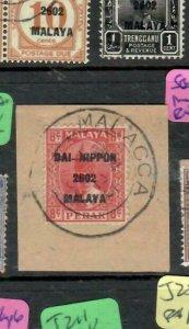 MALAYA JAPANESE OCCUPATION PERAK (P1607B) 8C DN PIECE MALACCA CDS SGJ 248  VFU