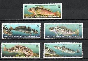 British Antarctic Territory 275-279  MNH