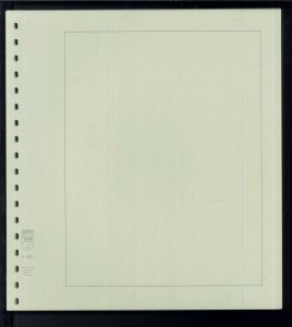 Pack of 110 Linder Stamp Album Card Stock Blank Pages - Size: 11.75 x 10.75