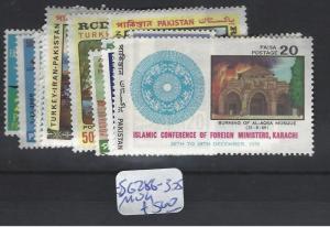 PAKISTAN  (P2412B)  SG   286-305  MOG