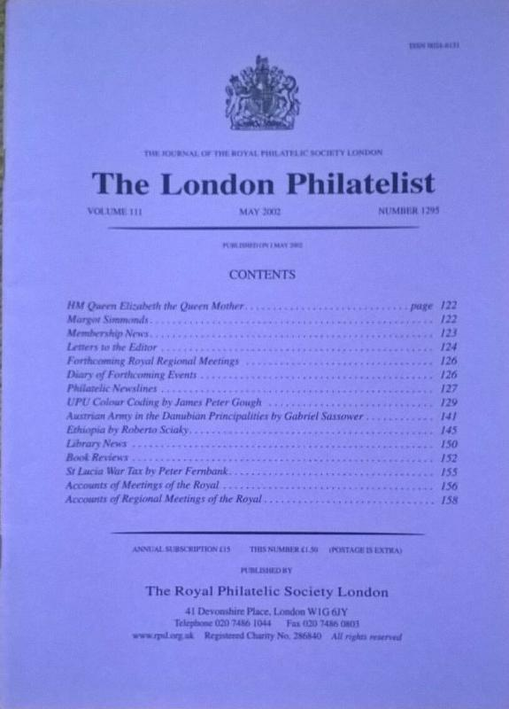 UPU COLOUR CODING Union Postale Universelle philatelic-literature Free UK Post