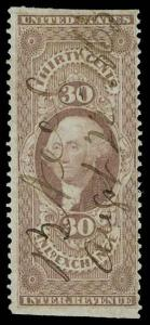 U.S. REV. FIRST ISSUE R52b  Used (ID # 70418)