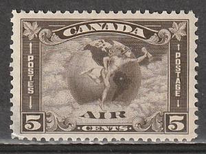 C2 Canada Air Mail OGNH (gum disturbance)