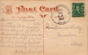 United States Ohio Valley Crossing 1908 4a-bar  1895-1918  PC.