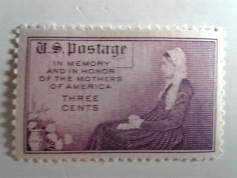 SCOTT # 737 MOTHERS OF AMERICA SINGLE MINT NEVER HINGED   1934