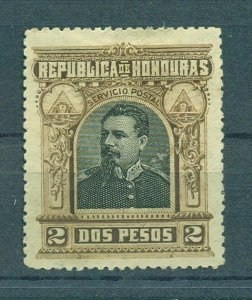 Honduras sc# 62 mh cat value $2.25