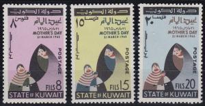 Kuwait 269-271 MNH (1965)