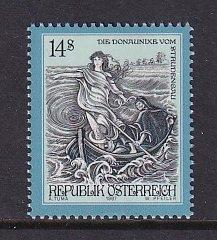Austria    #1733   MNH  1997   myths and legends   14s